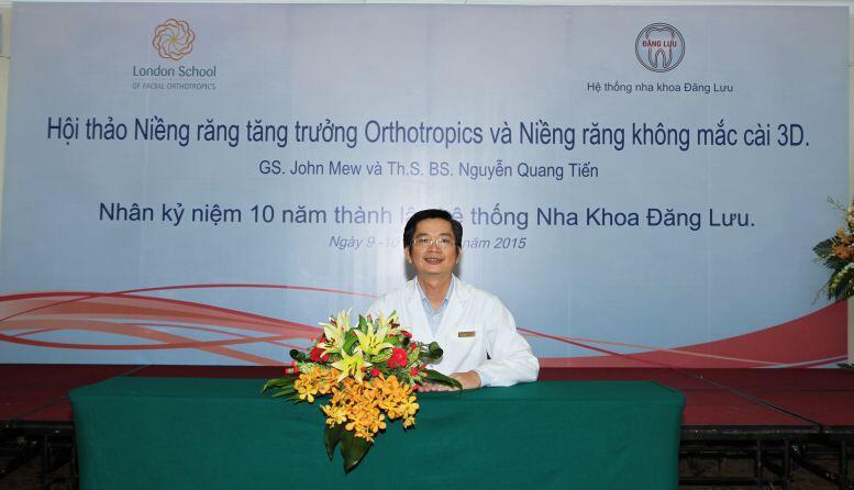 Bác sĩ Nguyễn Quang Tiến nha khoa đăng lưu