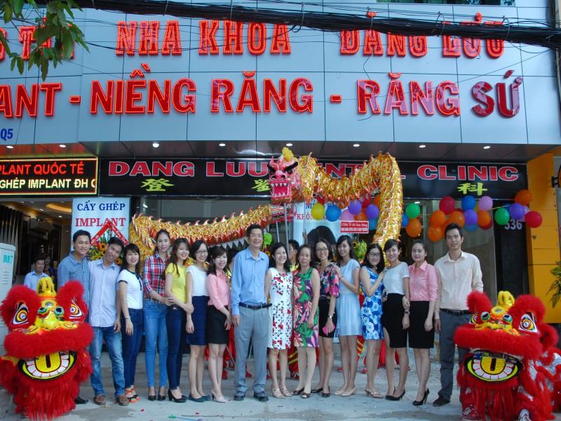 Đội ngũ bác sĩ nhân viên nha khoa Đăng Lưu cơ sở 2