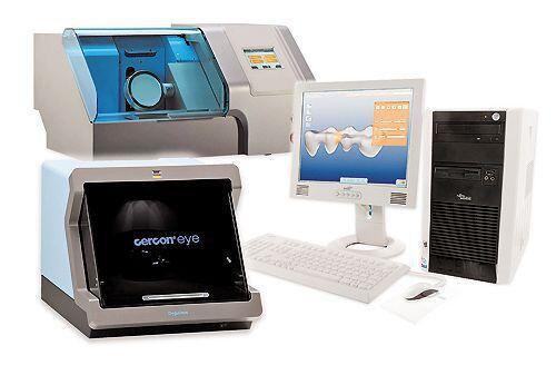 Hệ thống sản xuất răng sứ Cercon trên máy tính