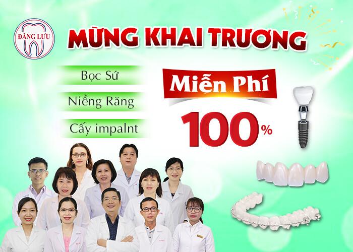 Miễn phí làm răng thẩm mỹ – Khai trương chi nhanh mới [Cần Thơ]