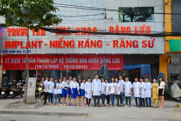 Kỷ niệm 10 năm thành lập Nha Khoa Đăng Lưu