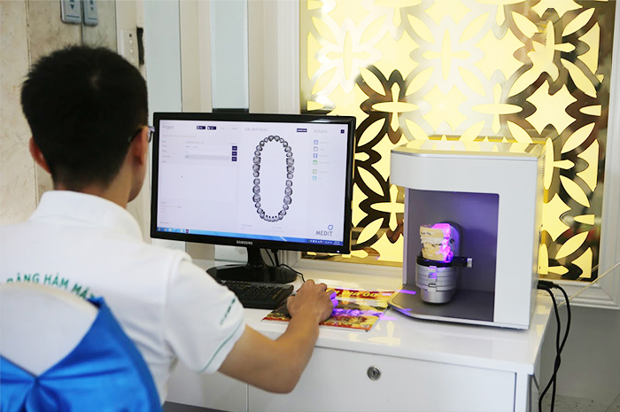 công nghệ chế tạo sứ CAD/CAM