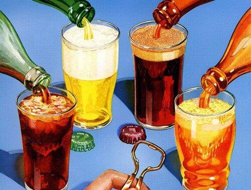 Những ảnh hưởng của nước uống có ga tới răng miệng