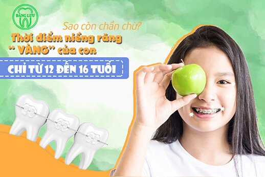 Khi nào nên niềng răng cho trẻ?