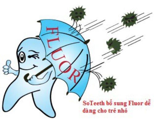 Tăng cường fluor cho răng miệng bằng cách nào ?