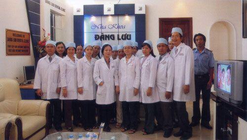 Đội ngũ bác sĩ tại Nha khoa Đăng Lưu